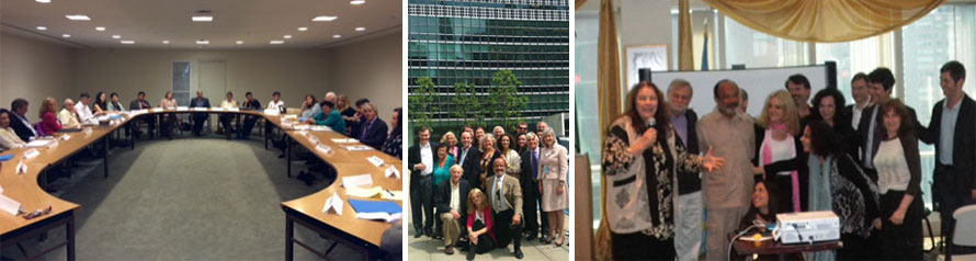 Evolutionary Leaders at the United Nations in New York